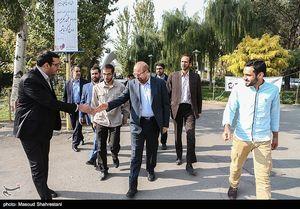 عکس/ سخنرانی قالیباف در دانشگاه علم و صنعت