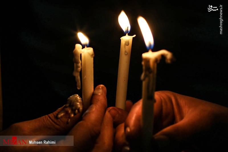 عکس/ مراسم شام غریبان شهادت امام رضا (ع)