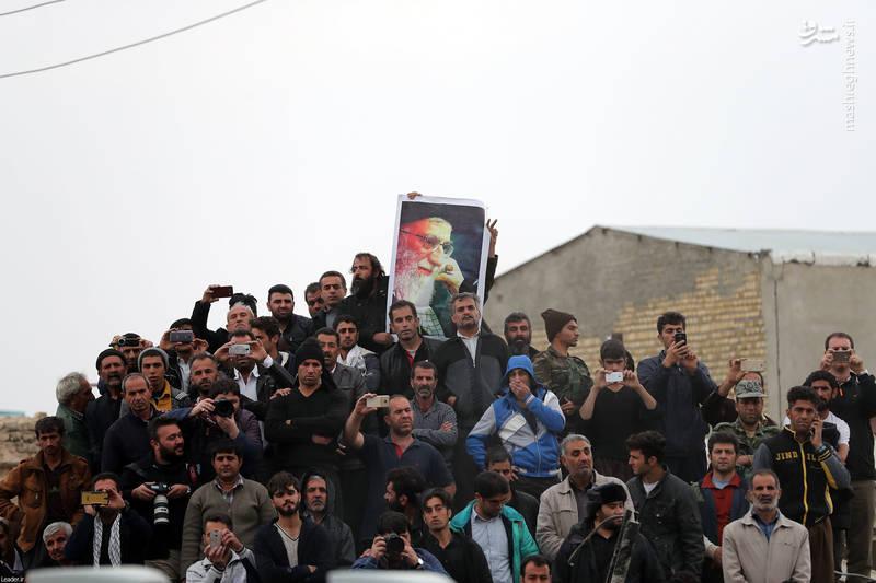 بازدید سرزده رهبر انقلاب از مناطق زلزلهزده شهر سرپل ذهاب