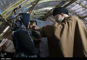 رهبر انقلاب تاکنون در کدام مناطق زلزلهزده حضور پیدا کردهاند؟ +عکس