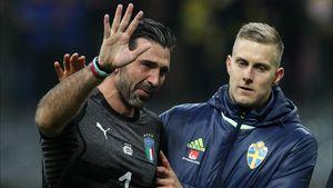 جواب بوفون به پیشنهاد راکیتیچ برای بازی به جای او در جام جهانی ۲۰۱۸