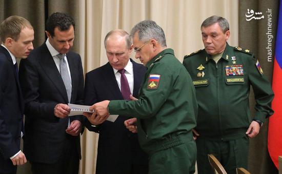 دیدار پوتین و بشار اسد