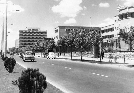 خیابان آزادی در دهه 40