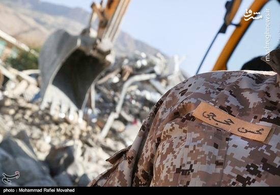 مدافعین حرم در مناطق زلزله زده
