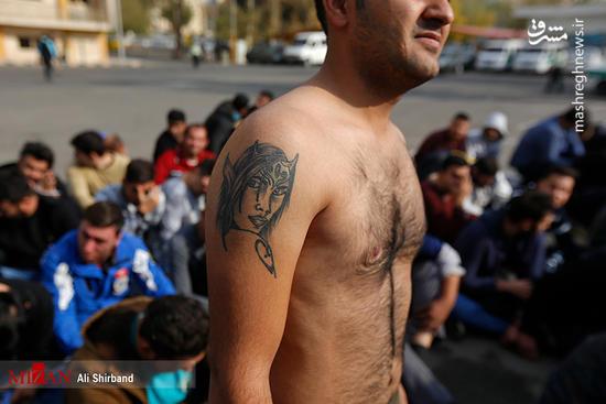 دستگیری از اراذل و اوباش پایتخت