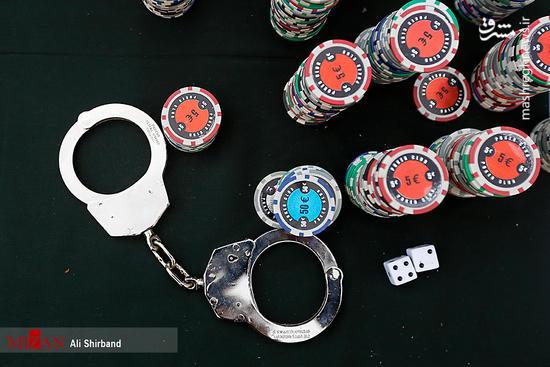 کشف وسایل قماربازی از اراذل پایتخت