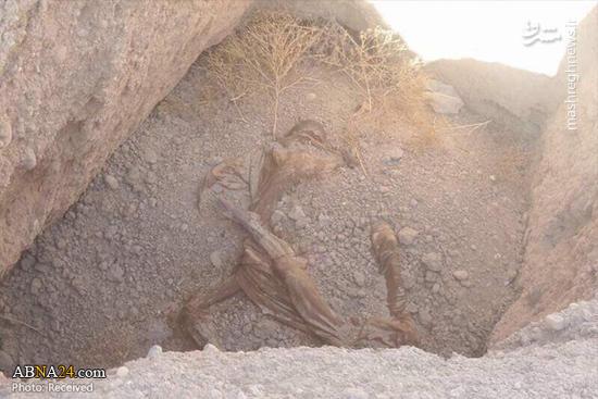 گور دسته جمعی در چاههای نفت خشک شده عراق