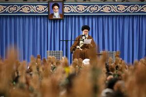صوت/ بیانات کامل رهبر انقلاب در دیدار بسیجیان