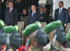 عکس/ مراسم سالگرد استقلال لبنان