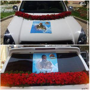 عکس/ ماشین عروس متفاوت در تهران