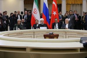 روحانی در نشست سه جانبه ایران، ترکیه و روسیه