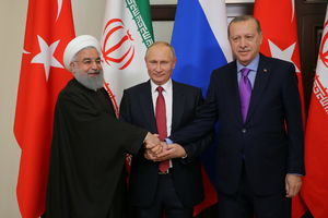 توافق ایران، روسیه و ترکیه برای همکاری در سوریه