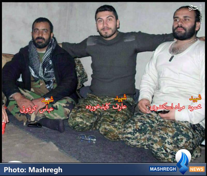 شهدای مدافع حرم خوزستانی