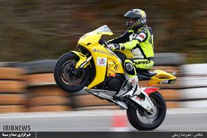 عکس/ مسابقات موتورسواری قهرمانی کشور