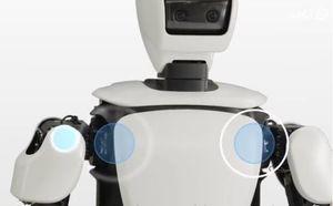 ربات انسان نمای خودروسازی تویوتا