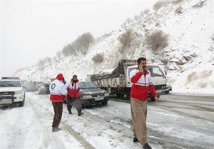 وقوع برف و کولاک در 14 استان کشور
