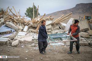 13 روز پس از زلزله