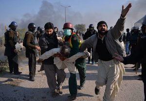 عکس/ درگیری خونین در پاکستان