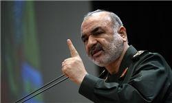 سردار سلامی: امروز در حال تعقیب دشمن تا شرق مدیترانه و دریای سرخ هستیم