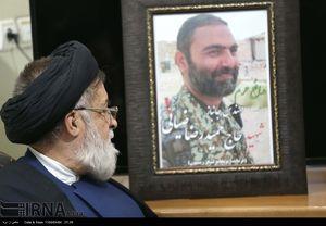 دیدار رئیس بنیاد شهید با خانواده شهید مدافع حرم «حمید رضا ضیایی