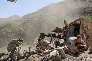 فیلم/ حمله سنگین طالبان به نظامیان آمریکایی