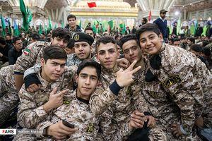 گردهمایی بزرگ بسیجیان تهران