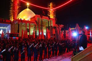 عکس/ حالوهوای سامرا در شب شهادت امام حسن عسکری(ع)