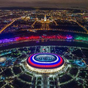 ورزشگاه لوژینکی مسکو؛ محل برگزاری بازی افتتاحیه جام جهانی 2018