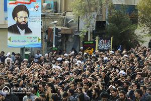 عکس/ دستهعزای شهادت امام حسن عسکری(ع) در قم