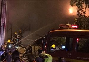 انفجار مهیب در اراضی اشغالی/ یک ساختمان تخریب شد/ ۱۲ نفر به شدت زخمی شدند +عکس