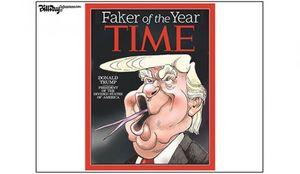 کاریکاتور/ دروغگوی سال انتخاب شد