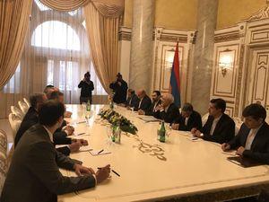 دیدار ظریف با نخست وزیر ارمنستان