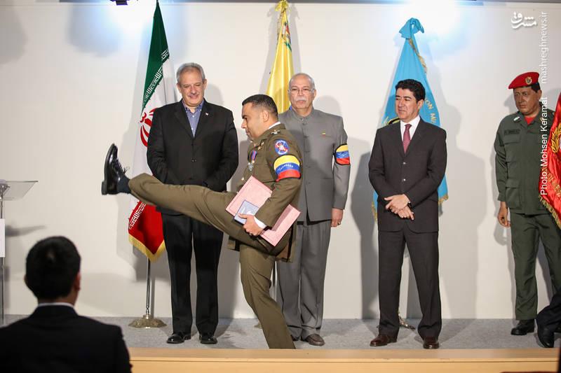 جشن روز نیروی هوایی ونزوئلا، در سفارت این کشور در تهران