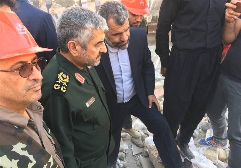 کارنامه درخشان ارتش و سپاه در زلزله کرمانشاه +عکس و فیلم
