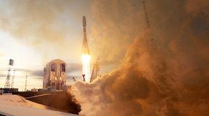 روسیه 19 دستگاه ماهواره به فضا پرتاب کرد