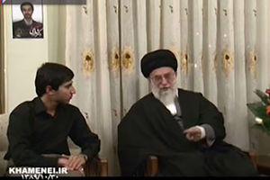 فیلم/ گفتگو رهبرانقلاب با همسر شهید شهریاری