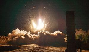 اولین تصویر از آزمایش موشکی امروز کره شمالی