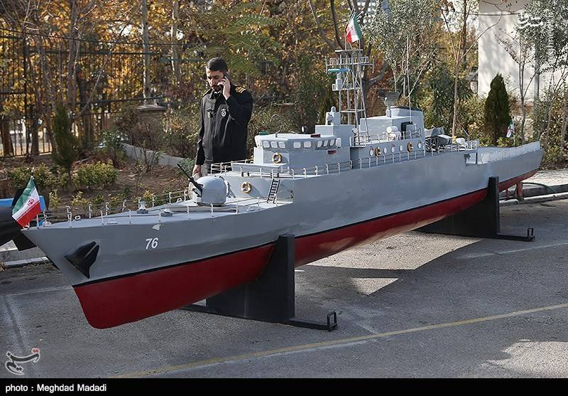 رونمایی از دستاوردهای نیروی دریایی ارتش