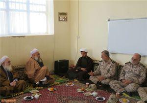 عکس/ دیدار سردار پاکپور با علمای اهل سنت