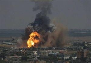 فیلم/ لحظه انفجار خانه علی عبدالله صالح در صنعا