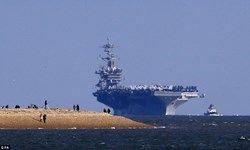 ناو هواپیمابر تئودور روزولت وارد آبهای خلیجفارس شد