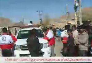 فیلم/ وضعیت زلزله زدگان در هجدک کرمان