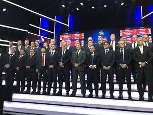 عکس/ کی روش در میان 32 مربی جام جهانی2018 روسیه