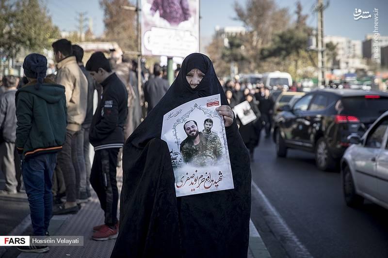 2123933 - مراسم تشییع شهید مدافع حرم نوید صفری