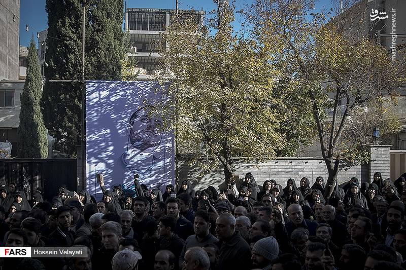 2123934 - مراسم تشییع شهید مدافع حرم نوید صفری