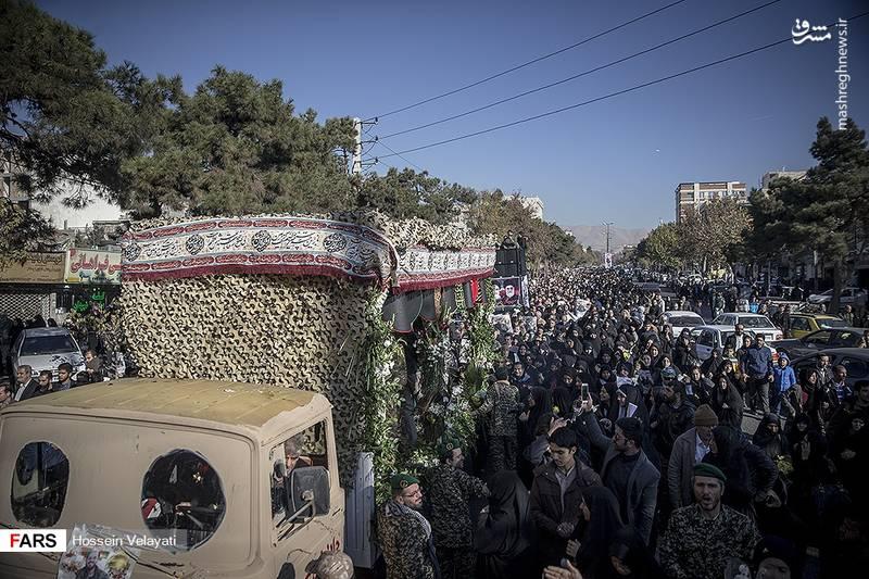 2123937 - مراسم تشییع شهید مدافع حرم نوید صفری