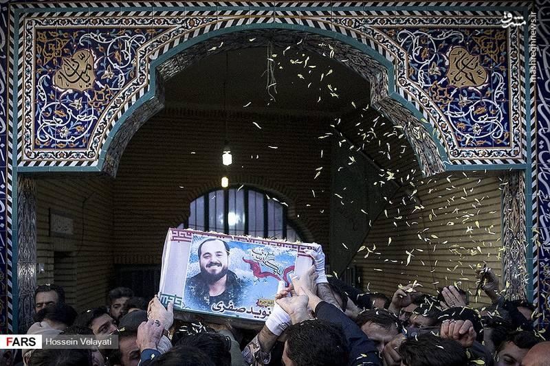 2123940 - مراسم تشییع شهید مدافع حرم نوید صفری