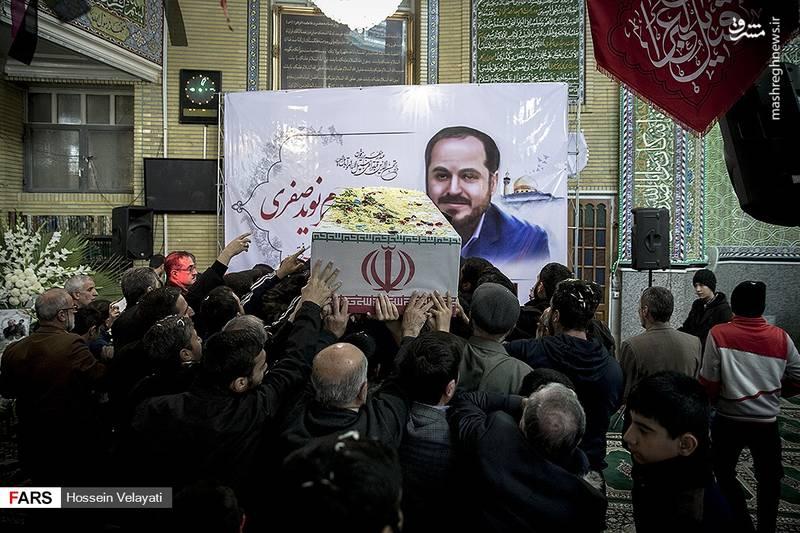 2123943 - مراسم تشییع شهید مدافع حرم نوید صفری