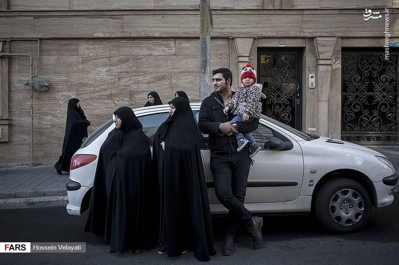 2123946 - مراسم تشییع شهید مدافع حرم نوید صفری