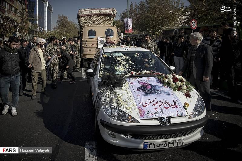 2123951 - مراسم تشییع شهید مدافع حرم نوید صفری